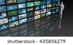 media monitoring as a marketing ... | Shutterstock . vector #435856279