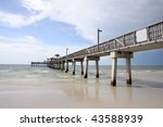 Pier In Fort Myers  Gulf Of...