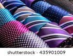 assorted neckties on display at ...   Shutterstock . vector #435901009