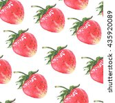 seamless pattern with... | Shutterstock . vector #435920089