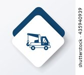 cargo truck icon | Shutterstock .eps vector #435940939
