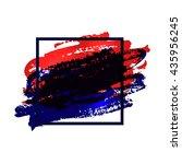 flyer template. urban style... | Shutterstock . vector #435956245