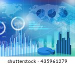 business chart | Shutterstock . vector #435961279