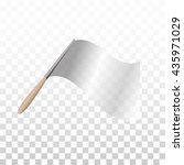 isolated grey color waving flag ...