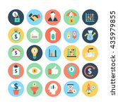 finance flat vector icons 5 | Shutterstock .eps vector #435979855