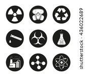 Chemical Industry Icons Set....