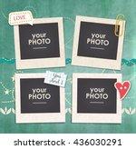 vintage hipster retro stile.... | Shutterstock .eps vector #436030291