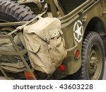Bag On The Military Car Of Us...