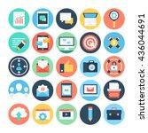 digital marketing vector icons 1 | Shutterstock .eps vector #436044691