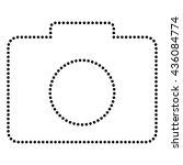 digital camera sign | Shutterstock .eps vector #436084774