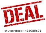 deal stamp.stamp.sign.deal. | Shutterstock .eps vector #436085671
