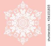elegant vector ornament in the...   Shutterstock .eps vector #436101835