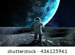 Astronaut in outer space....