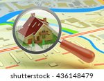 house searching for buy or rent ... | Shutterstock . vector #436148479