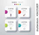 vector illustration of four... | Shutterstock .eps vector #436151809