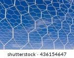 soccer goal net | Shutterstock . vector #436154647