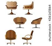 chair set. vector illustration | Shutterstock .eps vector #436165864