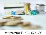 business investment in... | Shutterstock . vector #436167325