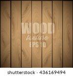 wooden background. wood texture ... | Shutterstock .eps vector #436169494