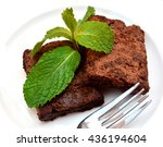 delicious and soft fresh... | Shutterstock . vector #436194604