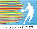 Basketball Player White...