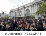 san francisco   jun 13th  2016  ... | Shutterstock . vector #436212445