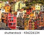 riomaggiore  italy   may 5 ...   Shutterstock . vector #436226134
