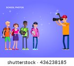 cool detailed character... | Shutterstock .eps vector #436238185