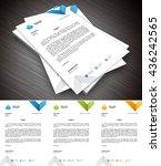 vector illustration of creative ... | Shutterstock .eps vector #436242565