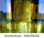 whiskey and ice macro background | Shutterstock . vector #436250101