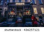 edinburgh  uk   january 20 ...   Shutterstock . vector #436257121
