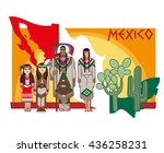 vector image of ancient and... | Shutterstock .eps vector #436258231
