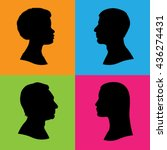 Four Vector Silhouettes Of...