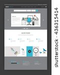 simple one page website...