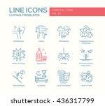 set of modern vector simple...   Shutterstock .eps vector #436317799