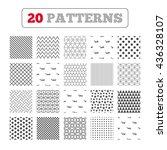 ornament patterns  diagonal...   Shutterstock .eps vector #436328107