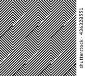 pattern stripes seamless. black ... | Shutterstock .eps vector #436328551