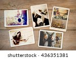 photo album remembrance and... | Shutterstock . vector #436351381