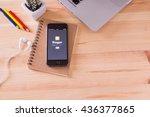 chiangmai  thailand   june 11 ...   Shutterstock . vector #436377865