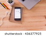 chiangmai  thailand  june 11 ... | Shutterstock . vector #436377925