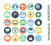 internet vector icon 1 | Shutterstock .eps vector #436391041