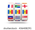 slots with flag of moldova... | Shutterstock . vector #436408291
