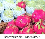 fruits | Shutterstock . vector #436408924