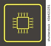 circuit board icon. technology...