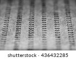 design element. punched card... | Shutterstock . vector #436432285