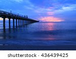 sea view on morning time before ... | Shutterstock . vector #436439425