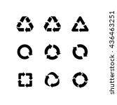 set of vector signs of...   Shutterstock .eps vector #436463251