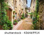 Flowery Streets On A Rainy...