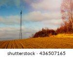 The Image Of Phone Tower In A...