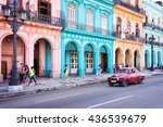 havana  cuba   april 18 ... | Shutterstock . vector #436539679